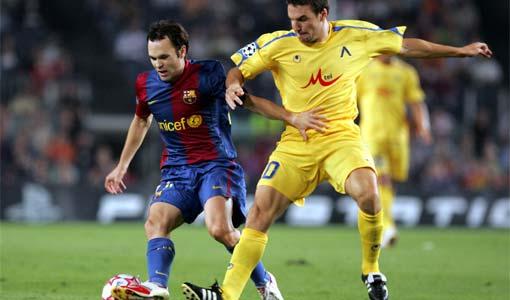 12.09.2006 срещу Барселона