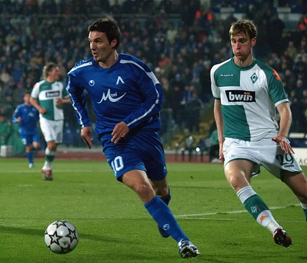 31.10.2006 срещу Вердер Бремен